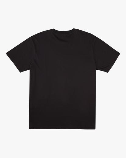 4 A/Div Buffalo Short Sleeve T-Shirt Black ABYZT00599 Billabong