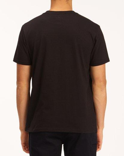 2 A/Div Buffalo Short Sleeve T-Shirt Black ABYZT00599 Billabong