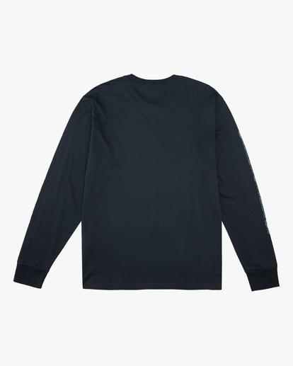 6 A/Div Arch Long Sleeve T-Shirt Blue ABYZT00600 Billabong