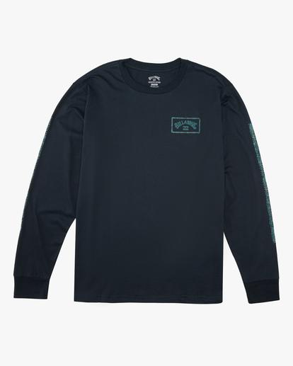 5 A/Div Arch Long Sleeve T-Shirt Blue ABYZT00600 Billabong
