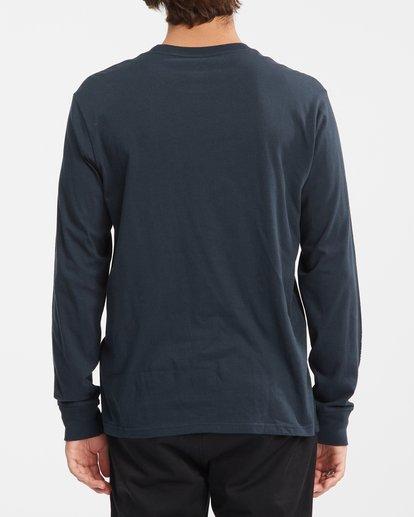 3 A/Div Arch Long Sleeve T-Shirt Blue ABYZT00600 Billabong