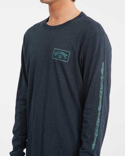 4 A/Div Arch Long Sleeve T-Shirt Blue ABYZT00600 Billabong