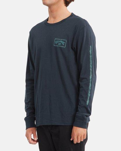 1 A/Div Arch Long Sleeve T-Shirt Blue ABYZT00600 Billabong