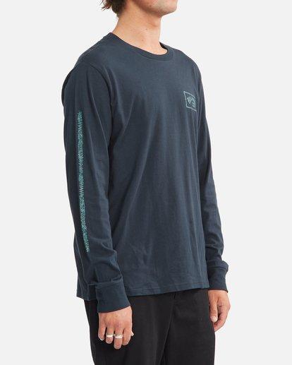 2 A/Div Arch Long Sleeve T-Shirt Blue ABYZT00600 Billabong