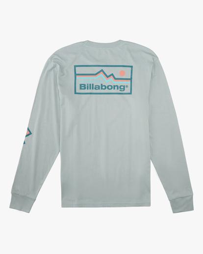 6 A/Div Denver Long Sleeve T-Shirt Green ABYZT00601 Billabong