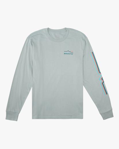 5 A/Div Denver Long Sleeve T-Shirt Green ABYZT00601 Billabong