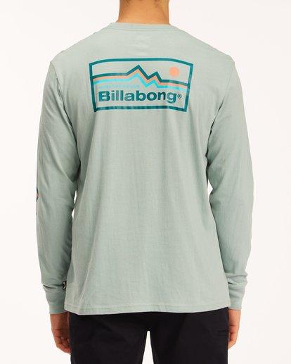 2 A/Div Denver Long Sleeve T-Shirt Green ABYZT00601 Billabong