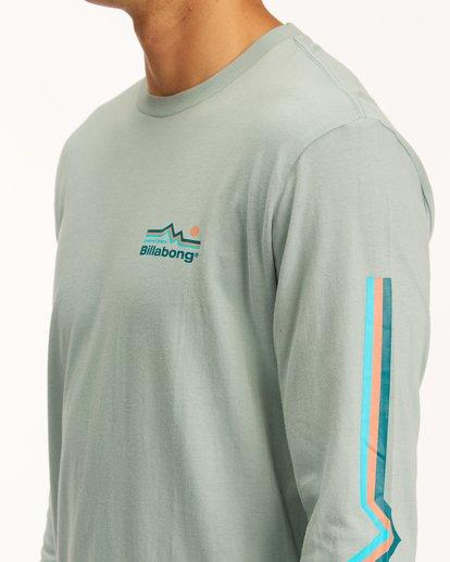 4 A/Div Denver Long Sleeve T-Shirt Green ABYZT00601 Billabong