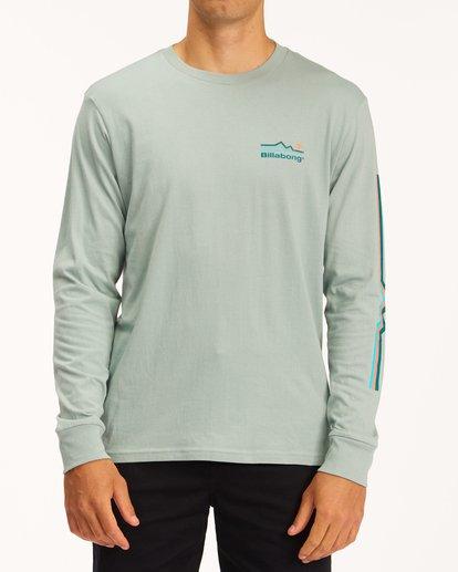 0 A/Div Denver Long Sleeve T-Shirt Green ABYZT00601 Billabong
