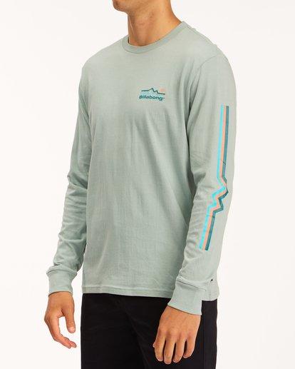 1 A/Div Denver Long Sleeve T-Shirt Green ABYZT00601 Billabong