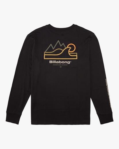 4 A/Div Peak Wave Long Sleeve T-Shirt Black ABYZT00603 Billabong