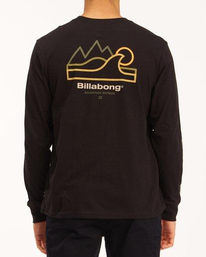 2 A/Div Peak Wave Long Sleeve T-Shirt Black ABYZT00603 Billabong
