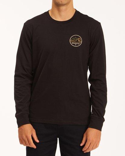 0 A/Div Peak Wave Long Sleeve T-Shirt Black ABYZT00603 Billabong