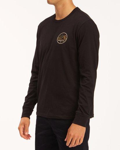 1 A/Div Peak Wave Long Sleeve T-Shirt Black ABYZT00603 Billabong