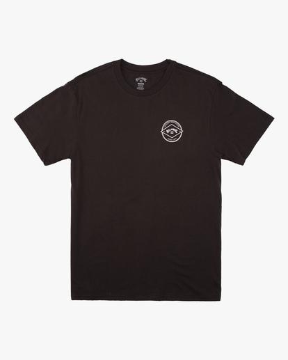 3 Rotor Arch Short Sleeve T-Shirt Black ABYZT00605 Billabong