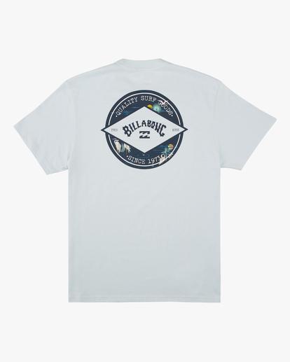 4 Rotor Arch Short Sleeve T-Shirt Blue ABYZT00605 Billabong
