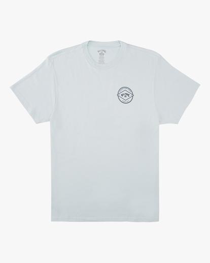 3 Rotor Arch Short Sleeve T-Shirt Blue ABYZT00605 Billabong