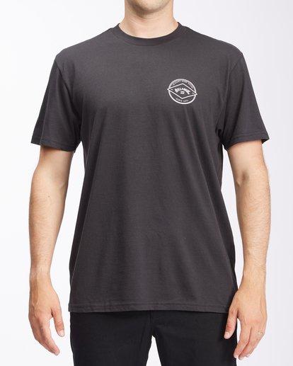 0 Rotor Arch Short Sleeve T-Shirt Black ABYZT00605 Billabong