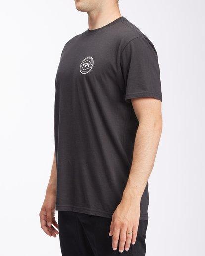 1 Rotor Arch Short Sleeve T-Shirt Black ABYZT00605 Billabong