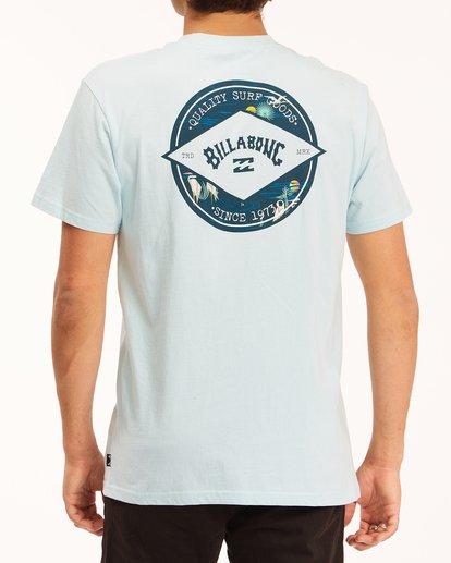 2 Rotor Arch Short Sleeve T-Shirt Blue ABYZT00605 Billabong