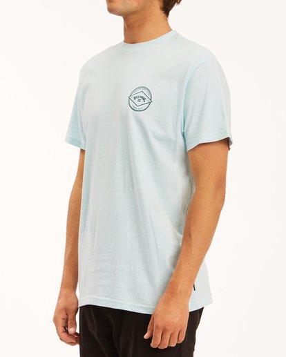 1 Rotor Arch Short Sleeve T-Shirt Blue ABYZT00605 Billabong