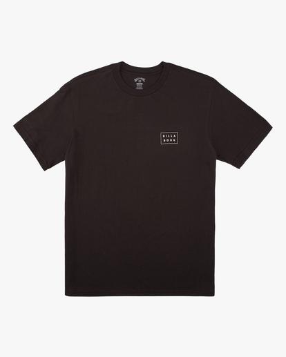 4 Diecut Short Sleeve T-Shirt Black ABYZT00606 Billabong