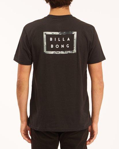 2 Diecut Short Sleeve T-Shirt Black ABYZT00606 Billabong