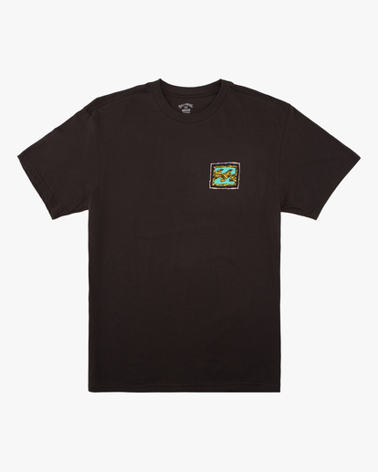 3 Crayon Wave Short Sleeve T-Shirt Black ABYZT00607 Billabong