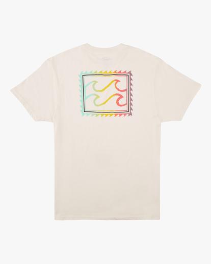 5 Crayon Wave Short Sleeve T-Shirt White ABYZT00607 Billabong