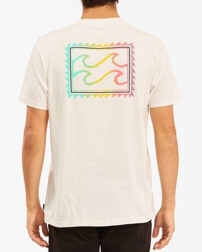 2 Crayon Wave Short Sleeve T-Shirt White ABYZT00607 Billabong