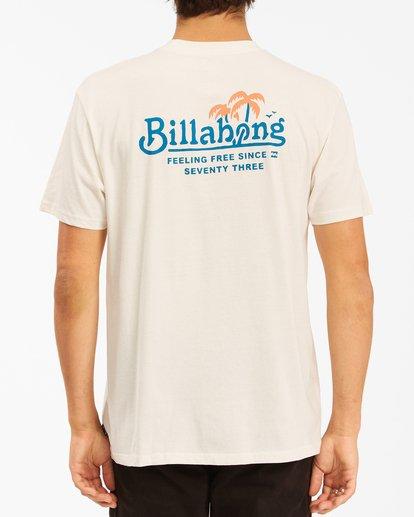 2 Lounge Short Sleeve T-Shirt White ABYZT00609 Billabong