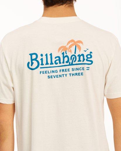 3 Lounge Short Sleeve T-Shirt White ABYZT00609 Billabong