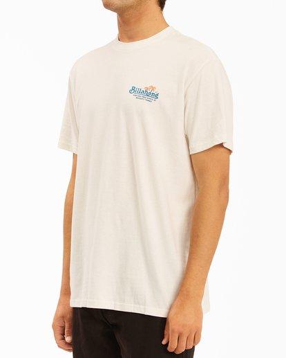 1 Lounge Short Sleeve T-Shirt White ABYZT00609 Billabong