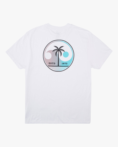5 Yin And Wave Short Sleeve T-Shirt White ABYZT00610 Billabong