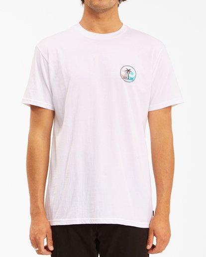 0 Yin And Wave Short Sleeve T-Shirt White ABYZT00610 Billabong
