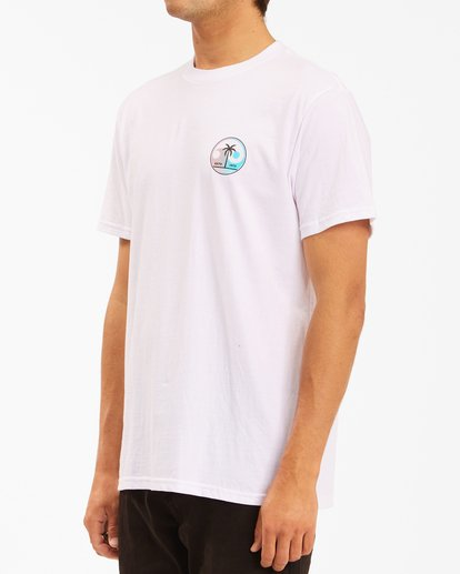 1 Yin And Wave Short Sleeve T-Shirt White ABYZT00610 Billabong