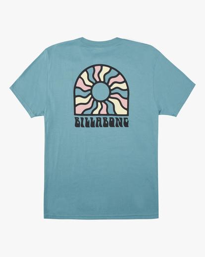 5 Arch Sun Short Sleeve T-Shirt Blue ABYZT00611 Billabong