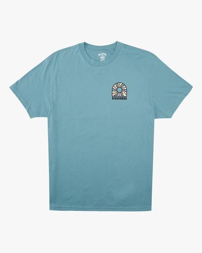 4 Arch Sun Short Sleeve T-Shirt Blue ABYZT00611 Billabong