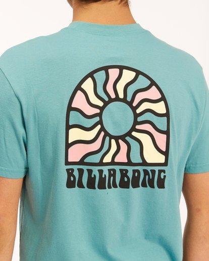 3 Arch Sun Short Sleeve T-Shirt Blue ABYZT00611 Billabong