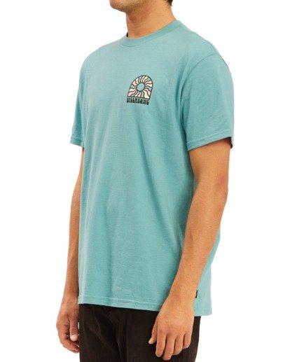 1 Arch Sun Short Sleeve T-Shirt Blue ABYZT00611 Billabong