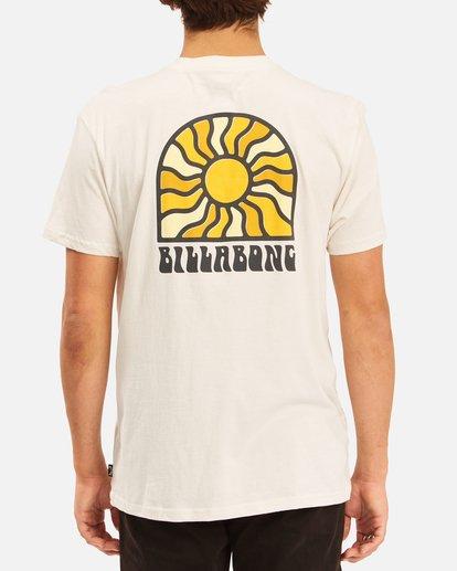 2 Arch Sun Short Sleeve T-Shirt White ABYZT00611 Billabong