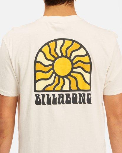 3 Arch Sun Short Sleeve T-Shirt White ABYZT00611 Billabong