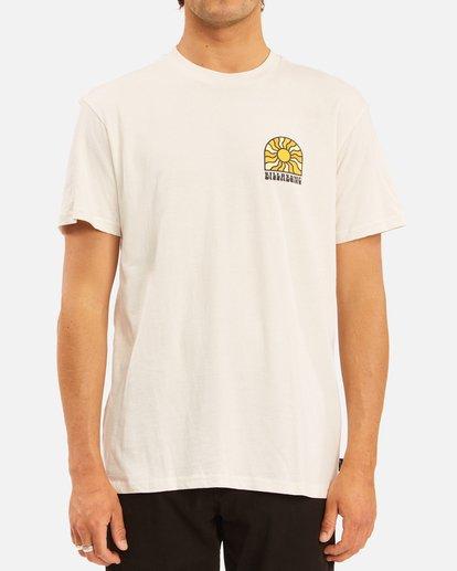 0 Arch Sun Short Sleeve T-Shirt White ABYZT00611 Billabong