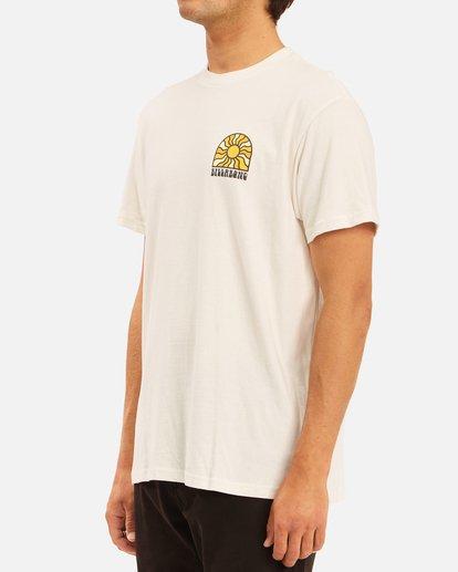 1 Arch Sun Short Sleeve T-Shirt White ABYZT00611 Billabong