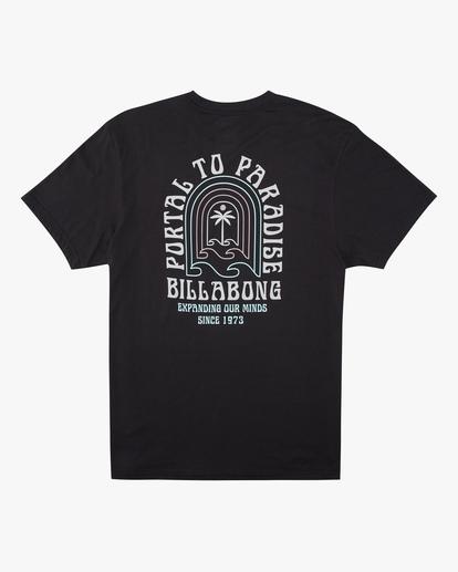 5 Portal Short Sleeve T-Shirt Black ABYZT00613 Billabong