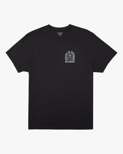 4 Portal Short Sleeve T-Shirt Black ABYZT00613 Billabong