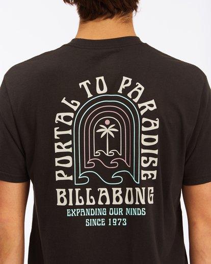 3 Portal Short Sleeve T-Shirt Black ABYZT00613 Billabong
