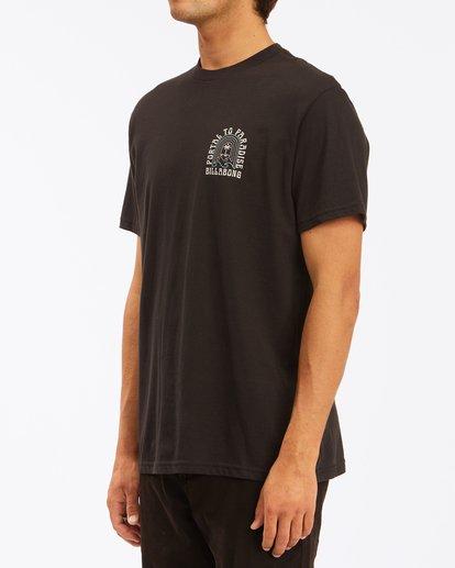 1 Portal Short Sleeve T-Shirt Black ABYZT00613 Billabong