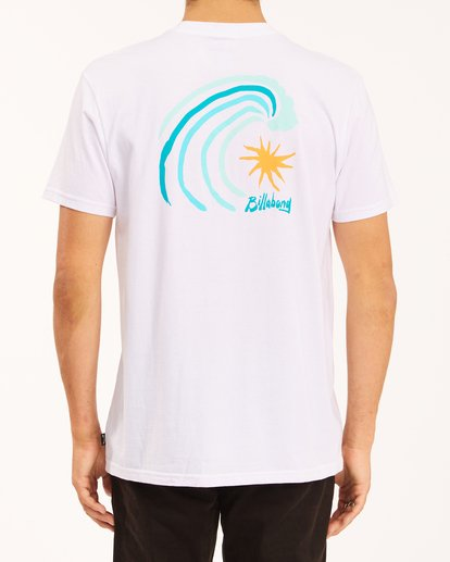 2 Peak Short Sleeve T-Shirt White ABYZT00614 Billabong