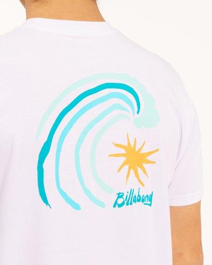 3 Peak Short Sleeve T-Shirt White ABYZT00614 Billabong